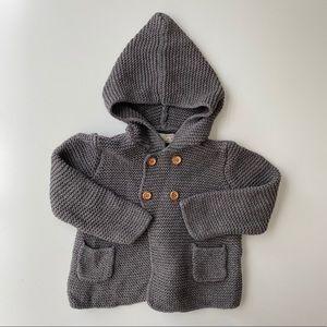 Zara | baby knit sweater cardigan
